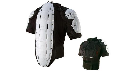 IXS Hammer Protection Jacket Ochraniacz klatki piersiowej biały/czarny